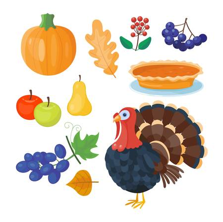 9,868 Thanksgiving Icons Stock Vector Illustration And Royalty ...