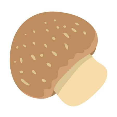 illustration: Mushrooms illustration Illustration
