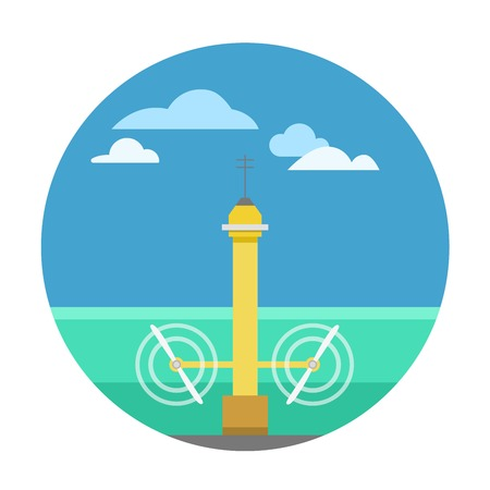 Type of power and energy source generation icon. Energy source station building renewable or sustainable and energy source sign