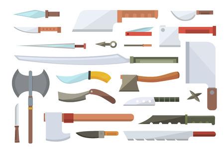 Knifes vector illustration. Illustration