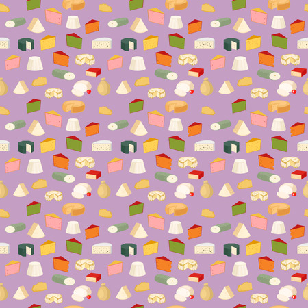 edam: Seamless pattern with cheese and holes. Cheddar milk edam breakfast background design. Taste element drawing food gourmet decorative art. Swiss dairy product.