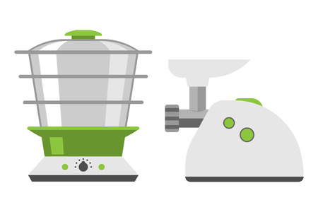 meat grinder: Home appliances meat grinder cooking kitchen home equipment and flat style household cooking electronics