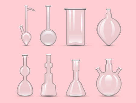 poison bottle: Chemical laboratory 3d lab flask glassware tube liquid biotechnology analysis and medical scientific equipment