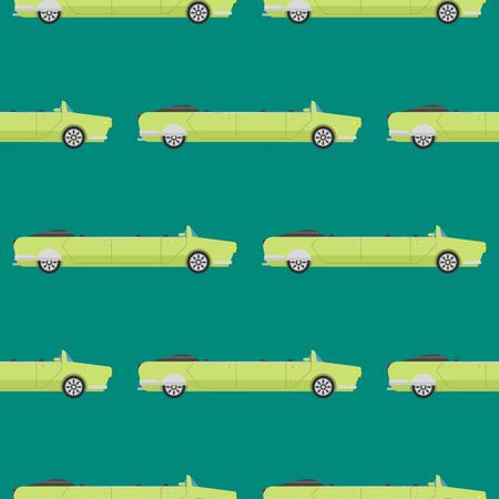 Wektor bezszwowych deseń luksusowy limuzyna długi samochód transportu szczegółowy auto biznesowych transportu pickup projektu
