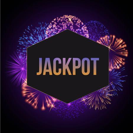 Jackpot advertisement template banner