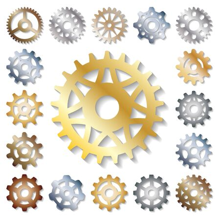 Gear  mechanics gearing web development shape work cog engine wheel equipment machinery element Stock fotó
