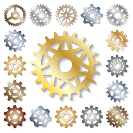 Gear  mechanics gearing web development shape work cog engine wheel equipment machinery element Фото со стока