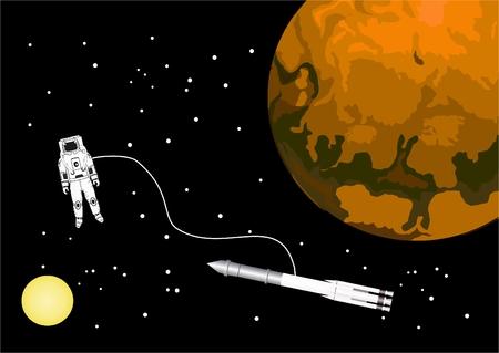 illustration: Space illustration
