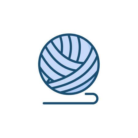 Crochet icon in vector. Logotype Stockfoto - 164953080