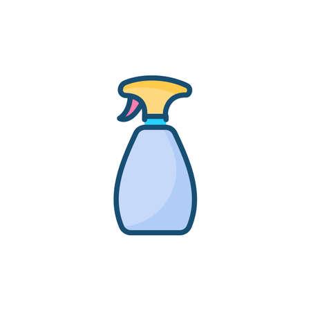 Spray Bottle icon in vector. Logotype
