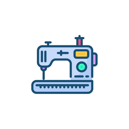 Sewing Machine icon in vector. Logotype
