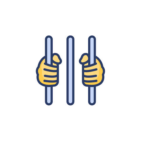 Capital Punishment icon in vector. Logotype Logos