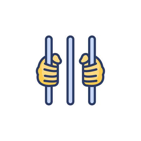 Capital Punishment icon in vector. Logotype Logo