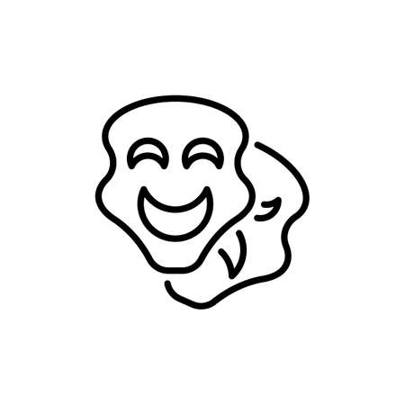 Cheater Mask icon in vector. Logotype