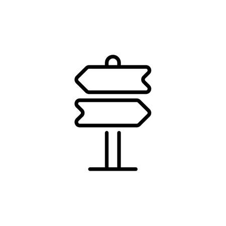 Direction Board icon in vector. Logotype