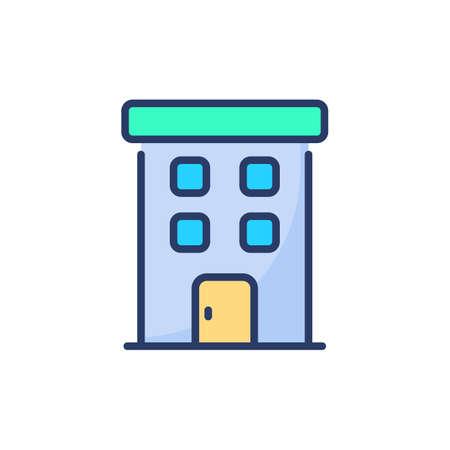 Apartment icon in vector. Logotype