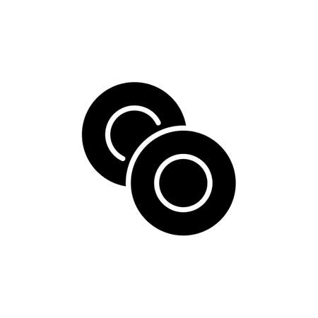 Washer icon in vector. Logotype