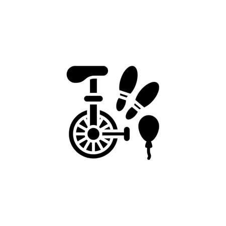 Circus Juggling icon in vector. Vektorové ilustrace