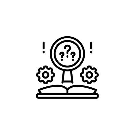 Know How icon in vector. Logotype
