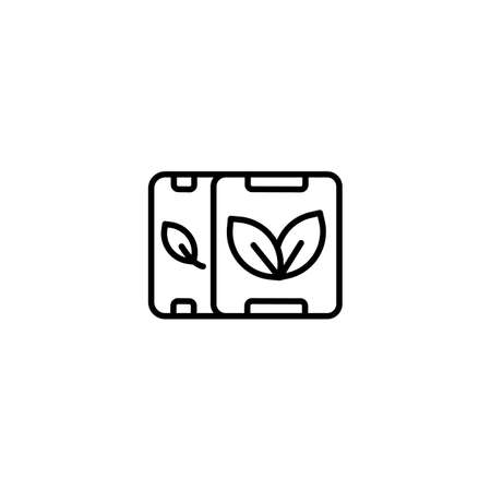 Eco Green Product icon in vector.