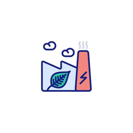 ECO Friendly icon in vector.