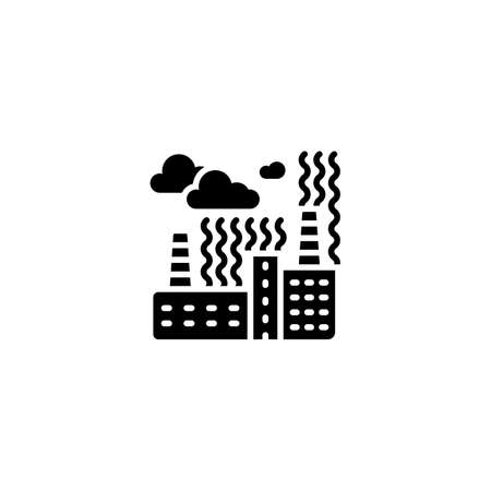 Chemical Fumes icon in vector.