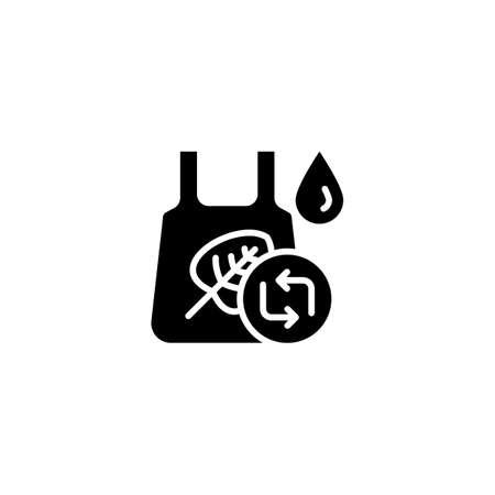 Eco Friendly Bag icon in vector. Logotype
