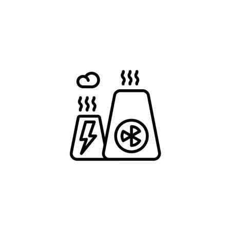 New Energy icon in vector. Logotype Logos