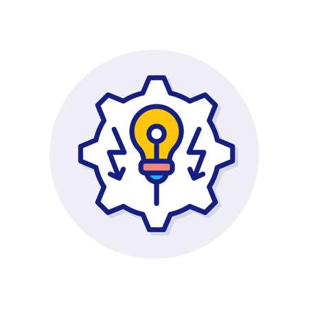 Energy Development icon in vector. Logotype