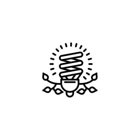 Renewable Energy icon in vector. Logotype