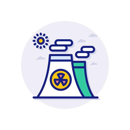 Dangerous Waste icon in vector. Logotype