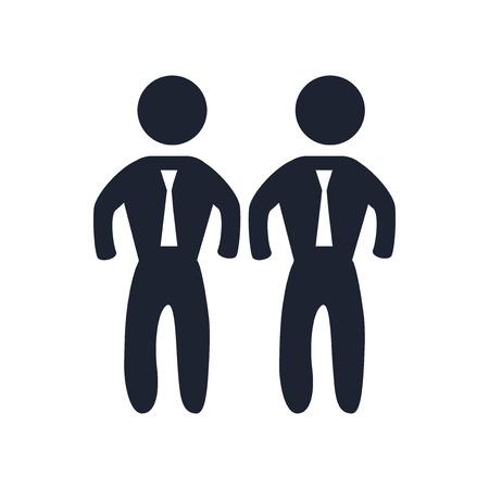 Vecteur d'icône Bodyguard isolé sur fond blanc pour la conception de votre application web et mobile, concept logo Bodyguard