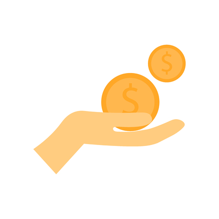 Poverty icon vector isolated on white background for your web and mobile app design, Poverty logo concept Illustration