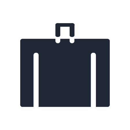 Luggage icon vector isolated on white background for your web and mobile app design, Luggage logo concept Illusztráció