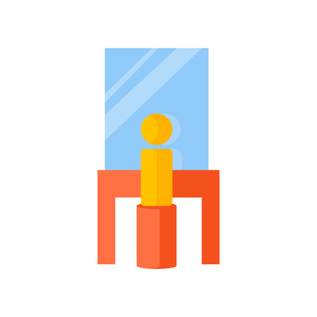 Backstage icon vector isolated on white background for your web and mobile app design, Backstage logo concept Illustration