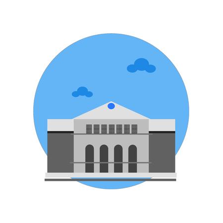 Palast von Versailles Ikonenvektor lokalisiert auf weißem Hintergrund für Ihr Web- und mobile App-Design, Palast von Versailles Logo-Konzept