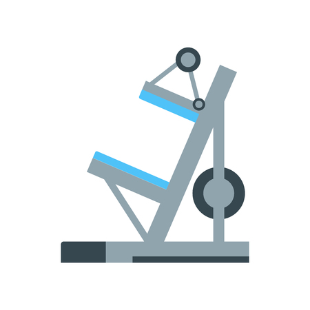 Machine icon vector isolated on white background for your web and mobile app design, Machine logo concept Ilustração
