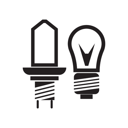 Car lights icon vector isolated on white background for your web and mobile app design, Car lights logo concept