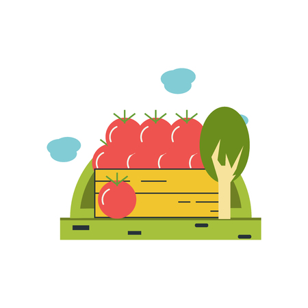 Harvest icon vector isolated on white background for your web and mobile app design, Harvest logo concept