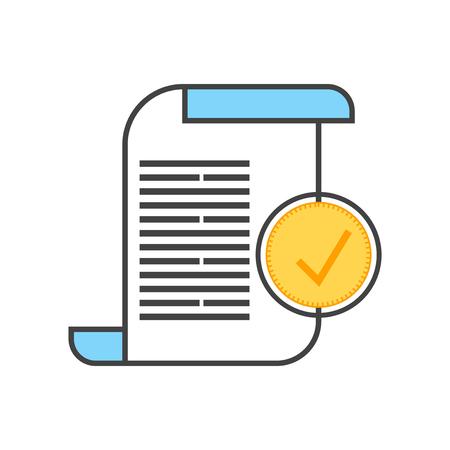 Ledger-Symbolvektor lokalisiert auf weißem Hintergrund für Ihr Web- und mobile App-Design, Ledger-Logo-Konzept Logo