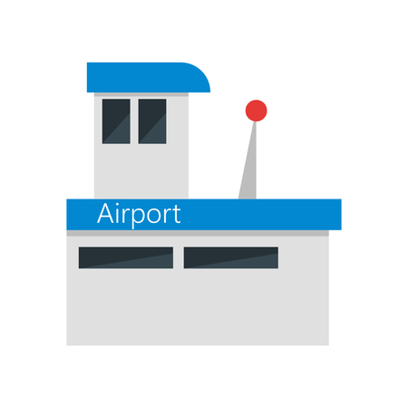 Airport icon vector isolated on white background for your web and mobile app design, Airport logo concept