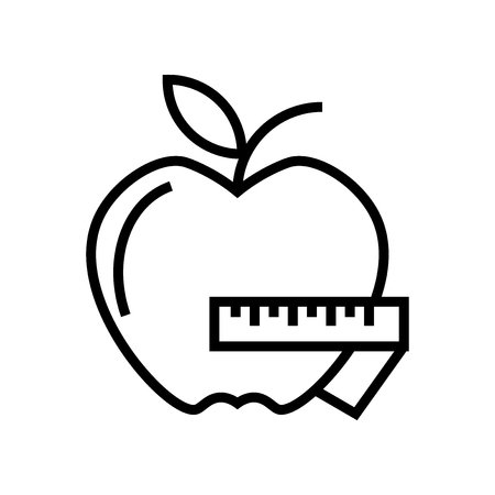 Apple icon vector isolated on white background for your web and mobile app design, Apple logo concept Banque d'images - 107096987