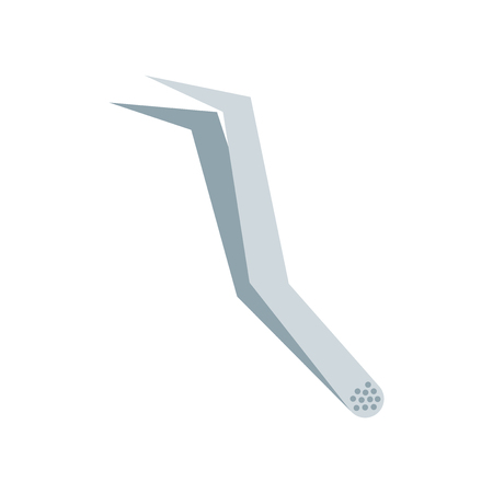 Tweezers icon vector isolated on white background for your web and mobile app design, Tweezers logo concept