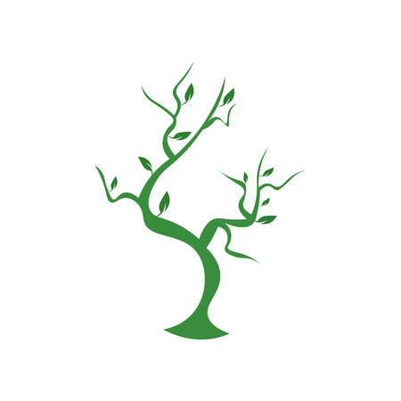 Trees icon vector isolated on white background for your web and mobile app design, Trees logo concept