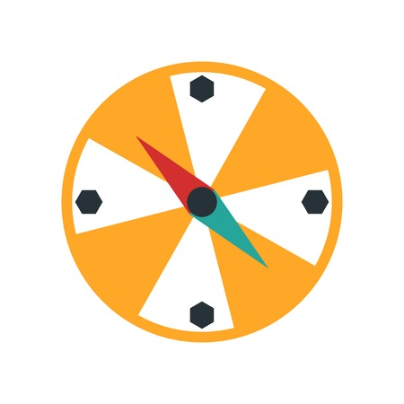 Compass icon vector isolated on white background for your web and mobile app design, Compass logo concept  イラスト・ベクター素材