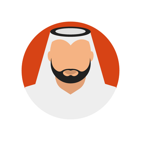 Arab icon vector isolated on white background for your web and mobile app design, Arab logo concept