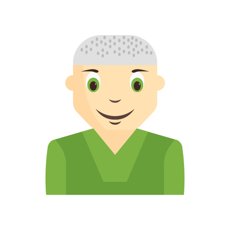 Vector de icono de avatar de niño chico aislado sobre fondo blanco para su diseño web y aplicaciones móviles, concepto de logo de avatar de chico chico