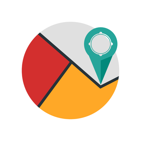 Gps icon vector isolated on white background for your web and mobile app design, Gps logo concept