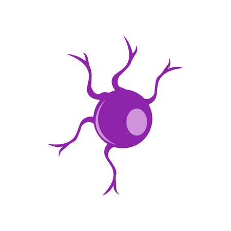 Neuron icon vector isolated on white background for your web and mobile app design, Neuron logo concept Logo