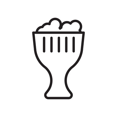 Beer icon vector isolated on white background for your web and mobile app design, Beer logo concept Ilustração